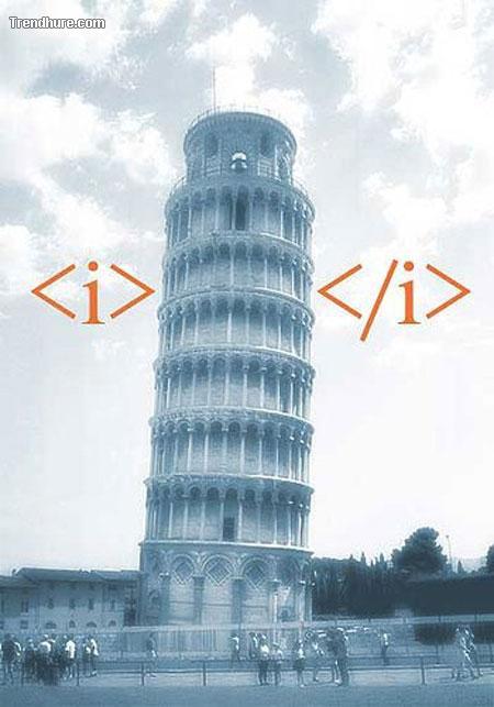 Italic!