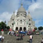 Die Kirche Sacre Coeur auf dem Montmatre