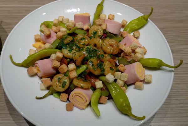 Salatteller als Cheffe