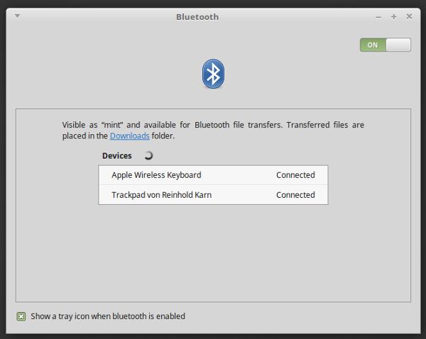 Apple-Bluetooth Devices lassen jetzt pairen und benutzen