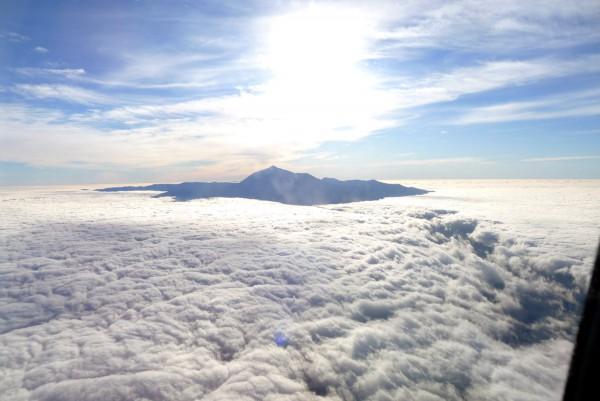 Der Pico del Teide über den Wolken