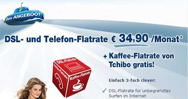 Kaffee-Flatrate
