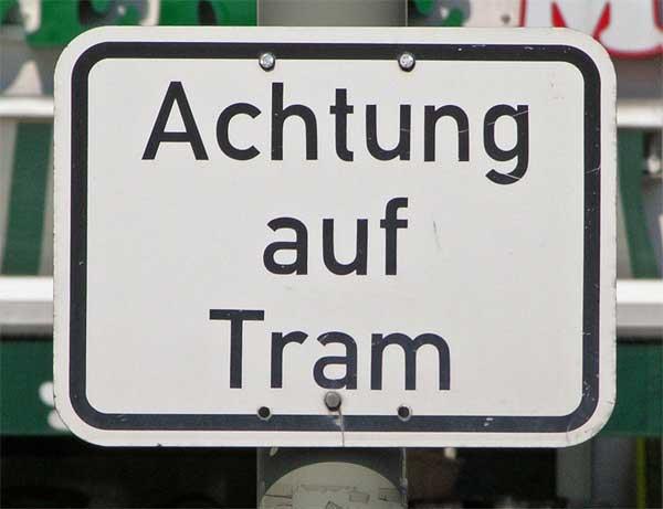 Achtung Tram