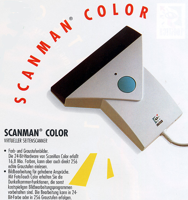 Scanman Color von Logitech